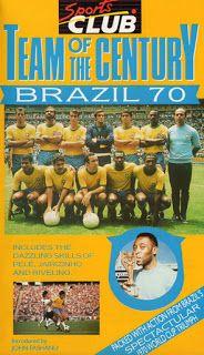 Legendaria Seleccion de Brasil Campeones en Mexico 70'
