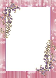 Wedding Anniversary Photos, Wedding Photos, Birthday Photo Frame, Pink Background Images, Happy Birthday Cake Images, Frame Template, Borders And Frames, Wedding Frames, Writing Paper