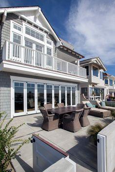 Beach House Exterior #BeachHouse #BeachHouseExterior #BeachHouseFacade Graystone Custom Builders, Inc.