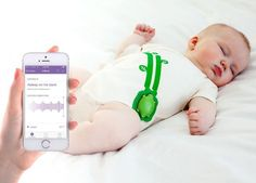Mimo Smart Baby Monitor Starter Kit - Smarter nursery care.