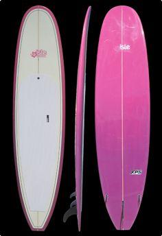 "12/"" Hawaiian Vinyl Wahine Surfer Car Decal Sticker #1"