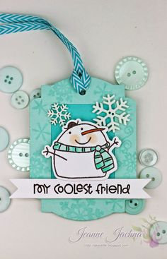I'm celebrating the 25 Days of Christmas Tags with my friend Tracey McNeely from In My Creative Opinion!    You'll know Tracey from a few o...