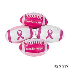 Pink Ribbon Football