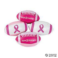 Pink Ribbon Football