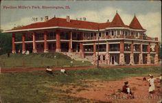 Pavilion Miller's Park Bloomington Illinois