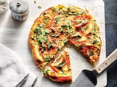 Frittatas lend themselves easily to vegetarian meals, allowing you to load in practically any veggies you like. Combining the eggs, cotta...