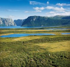 Western Brook Pond Trail, Gros Morne National Park by Newfoundland and Labrador Tourism. Places to go. O Canada, Canada Travel, Constitution Of Canada, Places To Travel, Places To Go, Gros Morne, Newfoundland And Labrador, Newfoundland Canada, Creative Landscape