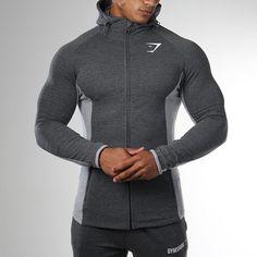 Autumn Men Zipper Shark Hoodies Sweatshirts Gyms Clothes