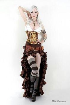 Steampunk fashion -Kato