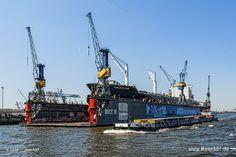 "Das Containerschiff ""CARLOTTA STAR"" - IMO 9210050 // #HamburgerHafen #Schiffe #Hamburg #Containerschiff / gepinnt von www.MeerART.de"