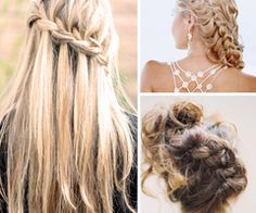 Beautiful Braids « Inspiration « Bow Ties & Bliss | One of a Kind Wedding Inspiration From the Pacific Northwest