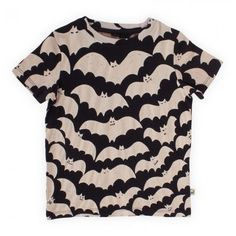 Stella McCartney Kids Black Bat Print Tee