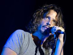 Chris Cornell and his eyes