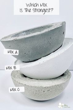 Wondering which mix is stronger? Or which you should use for planters? This FAQ page has answers to all your burning questions about concrete crafts. In this series of articles, learn everything you need to know about the mixes and general tips about working with cement. #artsyprettyplants #diyconcrete #cementcrafts #concretecrafts #concreteplanters Concrete Cement, Concrete Planters, Diy Planters, Concrete Crafts, Concrete Projects, Diy Projects, Burning Questions, Crafts To Make, Artsy