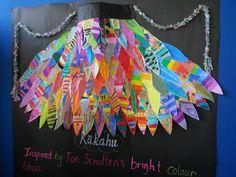 Art For Kids, Crafts For Kids, Arts And Crafts, Treaty Of Waitangi, Maori Art, New School Year, Recycled Art, Cloak, Wearable Art