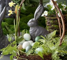 Mason Jar Flower Arrangements, Mason Jar Flowers, Essex Bunny, Money Bouquet, Easter Crafts, Easter Decor, Easter Centerpiece, Easter Ideas, Easter Projects