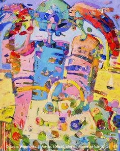 Beata Wąsowska, Motyle, 100×80, olej na płótnie, 2002, nr kat. 22-14