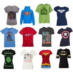 Superheroes.....want all of these