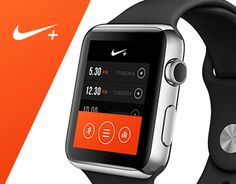 Concept NIKE+ in iWatch