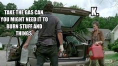 stuff and things [walking dead]