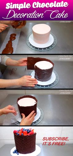 What She Creates Putting Bubble Wrap Around A Cake Is Simply Amazing!