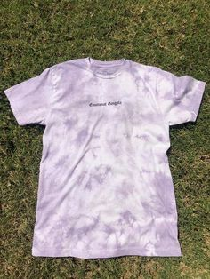 You gonna cry or get shit done? I think you're gonna do both.) Our tie dye blends are custom dyed. T-shirts are super soft. Lavender Tie, Lavender Outfit, Lavender Shirt, Cute Tie Dye Shirts, T Shirt Diy, Tie Dye Colors, Tie Dye Outfits, How To Tie Dye, Tie Dye Hoodie
