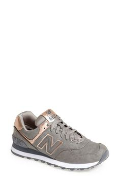 new balance 574 gold and grey