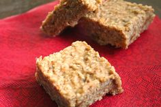 Sesame Seed Bars and the Powers of Zinc (Dairy, Gluten, Grain and Refined Sugar Free)