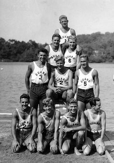 Shadow Lake, Franklin Lakes 1934. Ray Kramer's father is second row from top, left side. He was later fired as a life guard, when they found out he was underage.