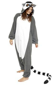 Lemur Onesie for Adults