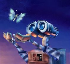 Day 19: My least favorite Disney Pixar film is WALL-E. *WALL-E