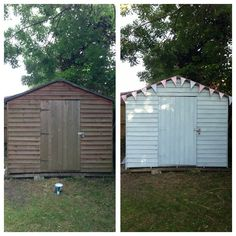 Garden Shed re paint