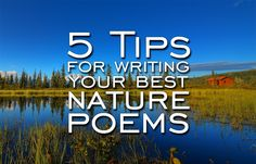 The Nature Of Nature Poetry: 5 Tips For Writing Your Best Nature Poems  - Writer's Relief