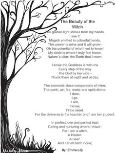 Book of Shadows:  #BOS The Beauty of the Witch page.