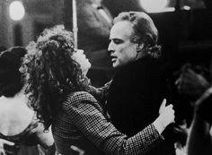 Maria Schneider and Marlon Brando in Last Tango in Paris .