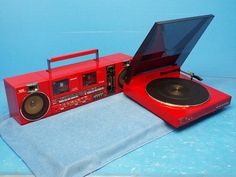 SHARP QT-P8R Crt Tv, Tape Recorder, Boombox, Audio Equipment, Tv Videos, 4 Life, Turntable, Vintage Toys, Nostalgia