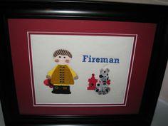 Transportation Theme - Fireman Pic