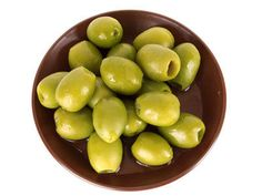 OLIVES  Olives are a good source of iron, vitamin E, copper and fibre.