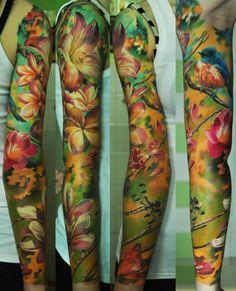 Beautiful Flowers By Den Yakovlev