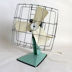 Vintage Fan ventilateur prometheus, 1940, rare & unique – just as only/once