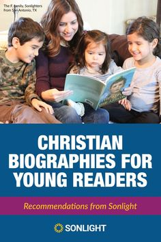 Here is a carefully curated list of our favorite Christian biographies for young readers, and the reasons that we recommend them so highly for your child(ren). Reading Resources, Teaching Reading, Teaching Kids, Learning, How To Teach Kids, Read Aloud, Great Books, Biography, Homeschool