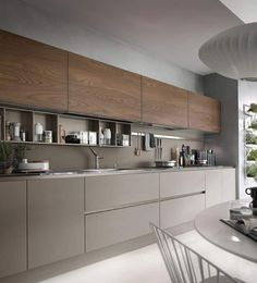 20 fabulous modern kitchen sets on simplicity, efficiency and elegance 5 * remajacantik Kitchen Room Design, Kitchen Cabinet Design, Modern Kitchen Design, Kitchen Layout, Home Decor Kitchen, Interior Design Kitchen, Kitchen Ideas, Kitchen Designs, Kitchen Storage
