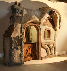 Storybook House Entry to Bedroom | Bob Simmons Design