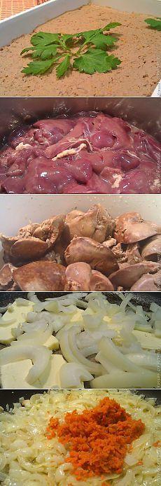 Нежный паштет из куриной печени | Банк кулинарных рецептов