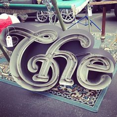 The sign #sign #lettering #type