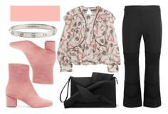 """""""Pink and florals"""" by fridaeklof ❤ liked on Polyvore featuring Isabel Marant, Alexander McQueen, N°21, Brother Vellies and Cartier"""