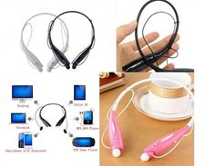 Wireless Bluetooth Stereo Handsfree Neckband Sports Headset Earphone for iPhone5