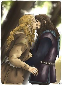 A sweet kiss by AlyTheKitten on DeviantArt