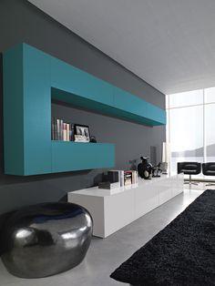 Kico Modern Home Interior Design, Contemporary Home Decor, Tv Unit Furniture, Furniture Design, Modern Tv Wall Units, Tv Wall Decor, Beautiful House Plans, Living Room Tv, Kitchen Cabinet Design