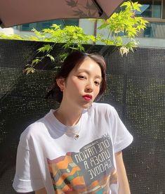 Kpop Girl Groups, Kpop Girls, Ulzzang Couple, Red Velvet Irene, Cute Icons, Red Queen, Seulgi, My Girl, T Shirts For Women